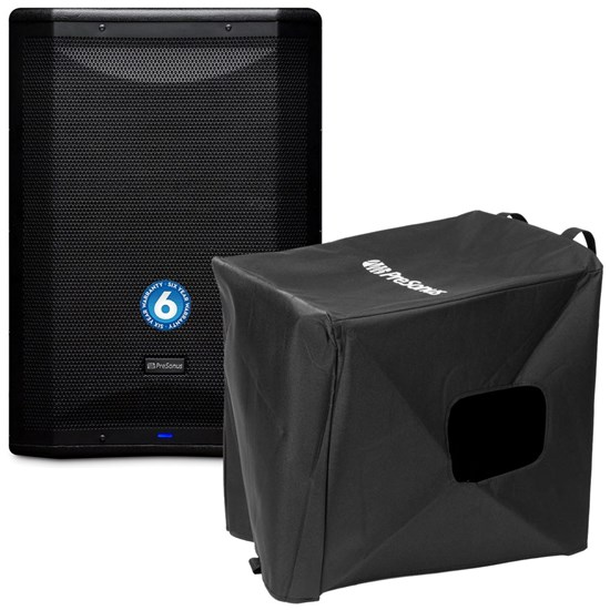 "PreSonus AIR15s 15"" 1200W Powered PA Subwoofer w/ Free Cover"