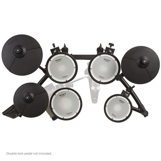 Roland TD1DMK V-Drum Kit w/ Double-Mesh Drum Heads for Snare & Toms