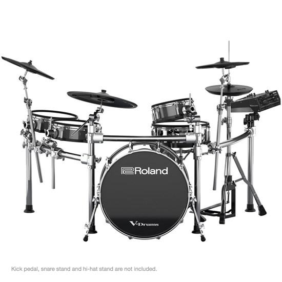 Roland TD50KVXS Ultimate V-Drums System w/ KD220 Bass Drum & Stands