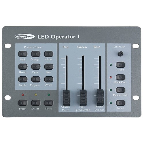 Showtec LED Operator 1 DMX Controller (For RGB LED Cans)