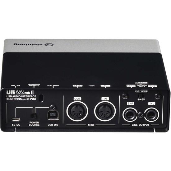 OPEN BOX Steinberg UR22mkII USB/iOS Audio/MIDI Interface