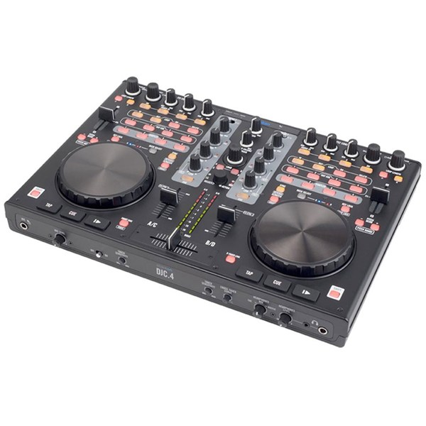 Stanton DJC.4 Digital DJ Controller w/ Virtual DJ