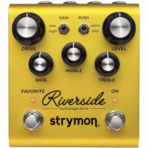 Strymon Riverside Multistage Drive Pedal (PSU Not Included)