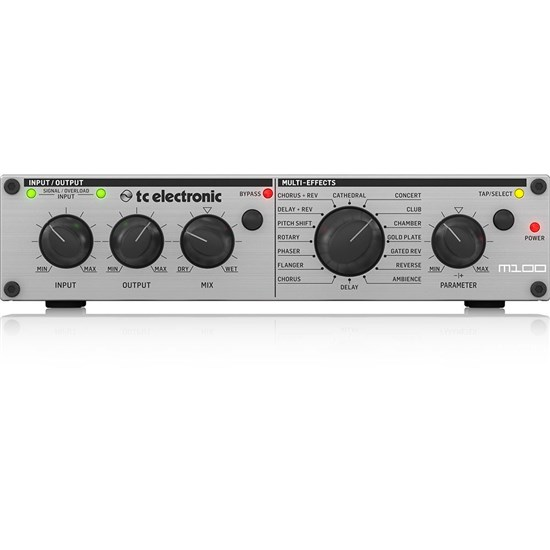 TC Electronic M100 Stereo Multi-Effects Processor w/ Legendary TC Reverbs & Effects