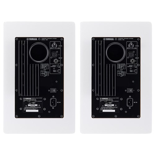 yamaha hs8w 8 active studio monitor white pair active studio monitors mannys. Black Bedroom Furniture Sets. Home Design Ideas