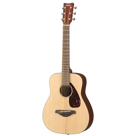 Yamaha JR2 3/4 Scale Mini Folk Guitar w/ Spruce Top in Gig Bag (Natural)