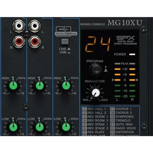 yamaha mg10xu 10 input mixer w fx usb audio interface analogue mixers mannys. Black Bedroom Furniture Sets. Home Design Ideas