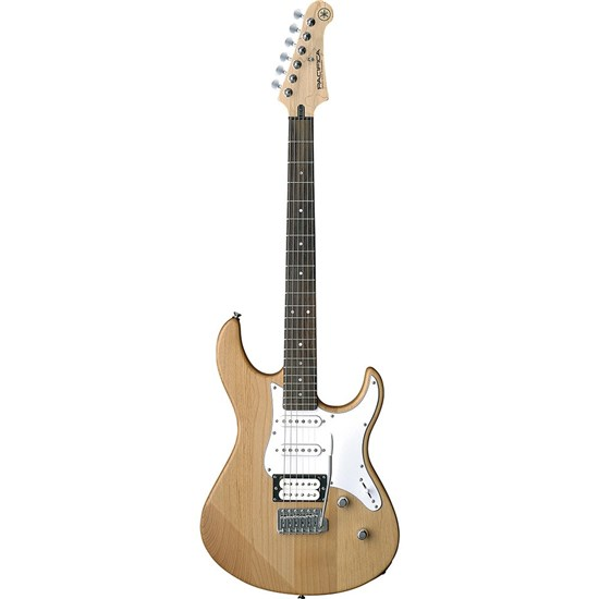 Yamaha PAC112V PAC100 Series Pacifica Electric Guitar (Yellow Natural Satin)