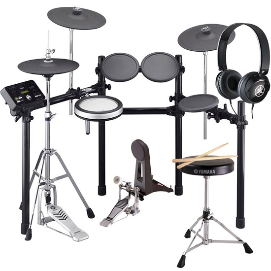 Yamaha DTX532K Electronic Drum Kit w/ FREE HPH50 Headphones, Drum Stool & Foot Pedal Pack
