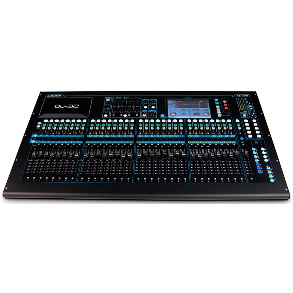 allen heath qu32 38x28 digital mixer digital studio mixers mannys. Black Bedroom Furniture Sets. Home Design Ideas