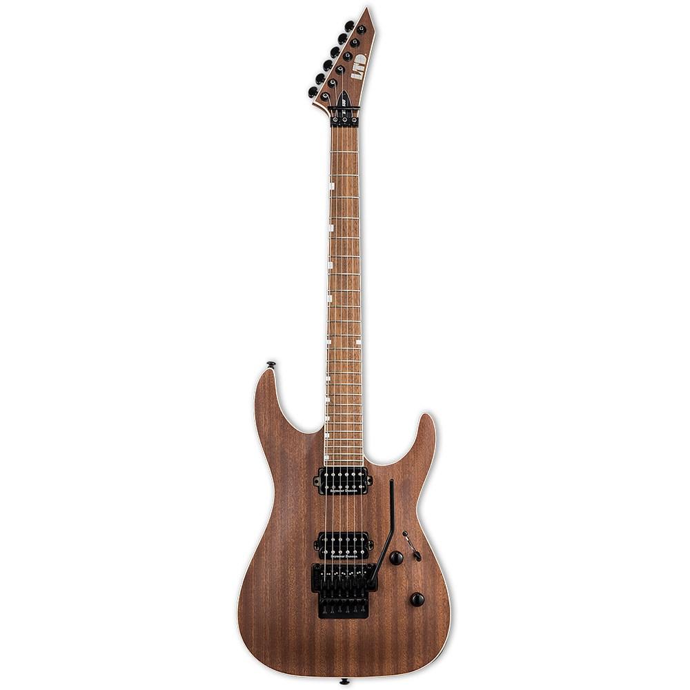esp lmh400mns esp ltd mh series mh 400m mahogany electric guitar natural satin mannys. Black Bedroom Furniture Sets. Home Design Ideas