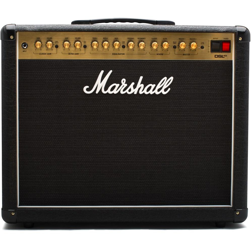 Marshall Dsl40c Guitar Combo Amplifier 40 Watts 1x12 U0026quot Manual Guide