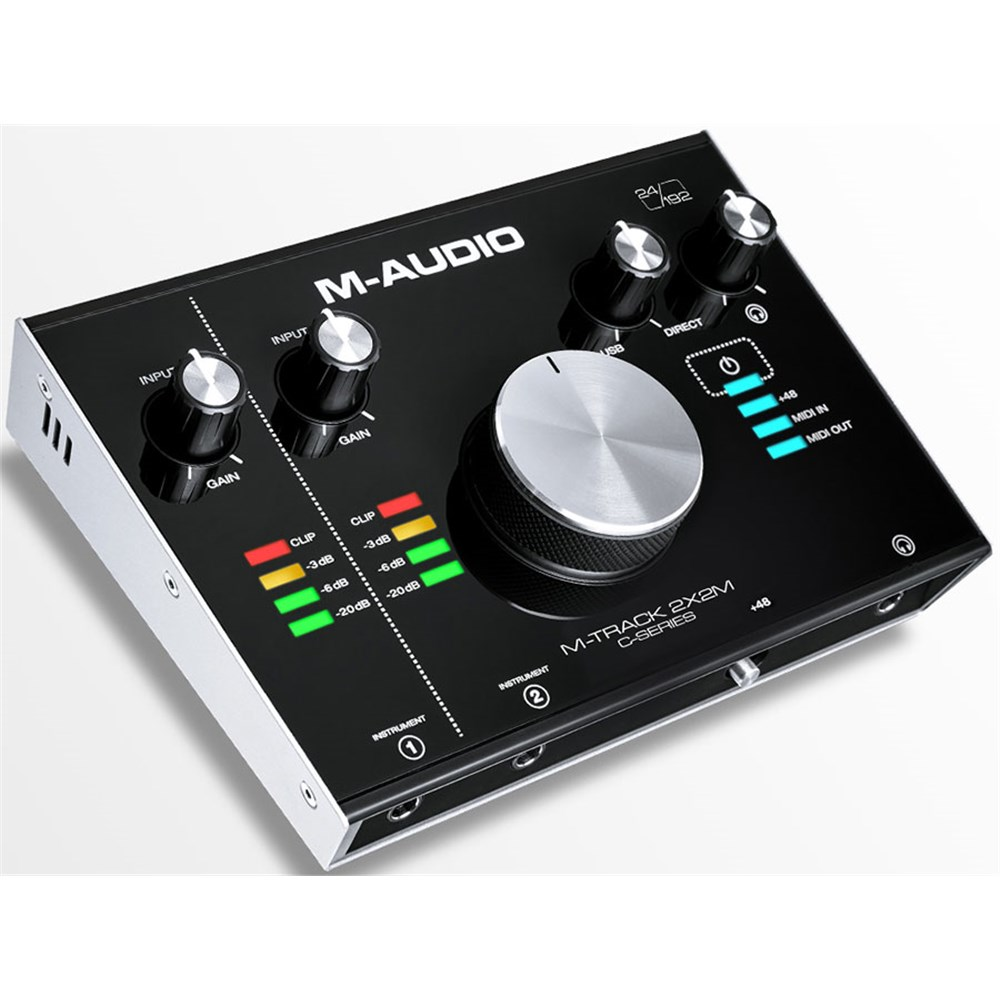 m audio m track 2x2m usb audio midi interface usb audio interfaces mannys. Black Bedroom Furniture Sets. Home Design Ideas