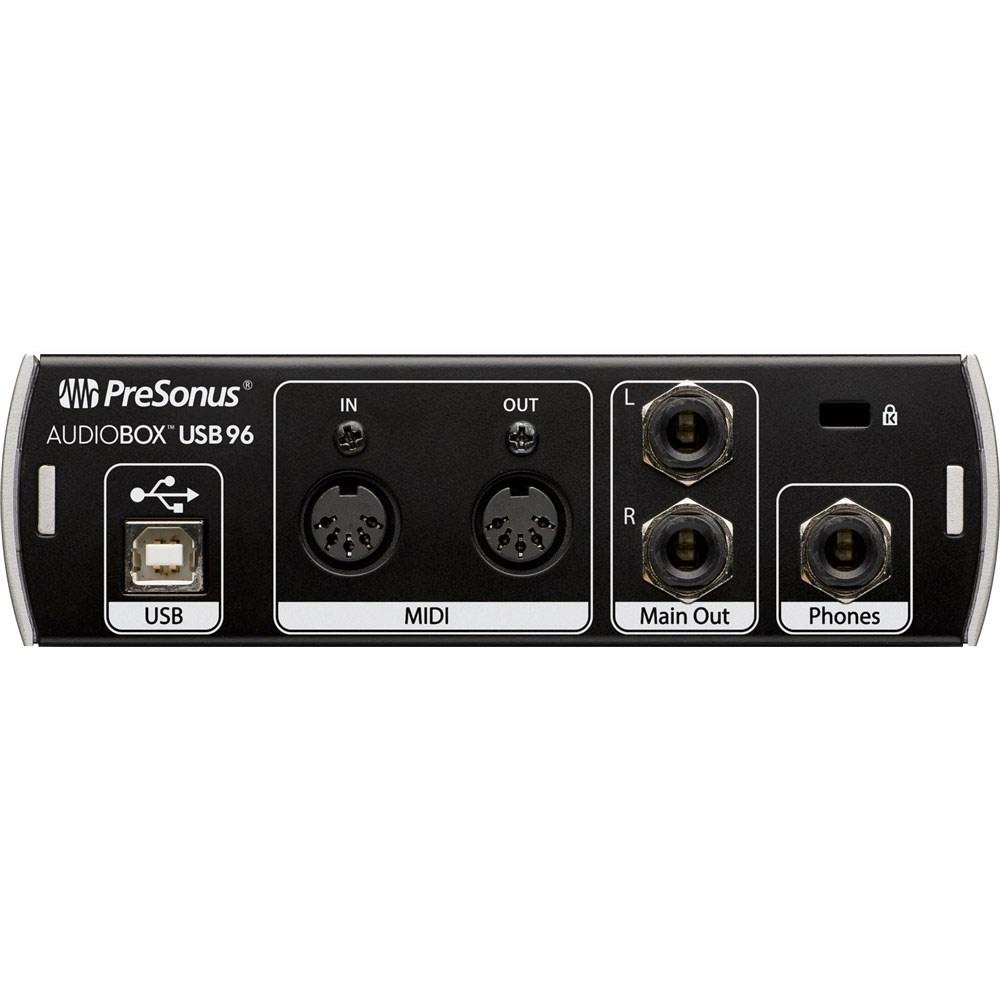 pre aboxusb96st presonus audiobox usb96 studio pack w usb audio midi interface w mic. Black Bedroom Furniture Sets. Home Design Ideas