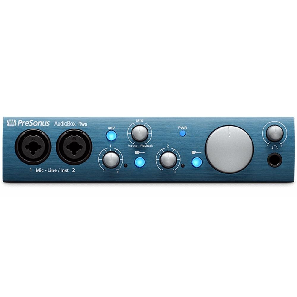 presonus audiobox itwo 2x2 usb ipad audio interface usb audio interfaces mannys. Black Bedroom Furniture Sets. Home Design Ideas