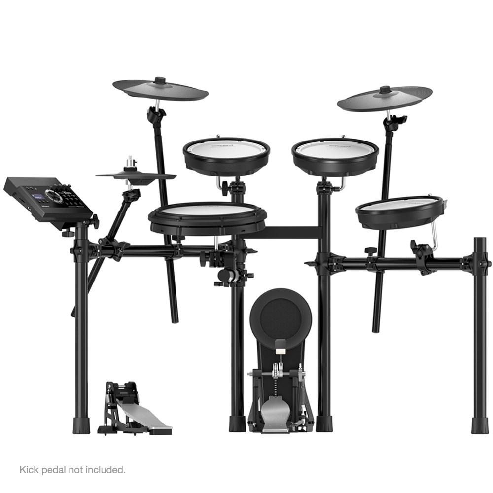 Rol Td17kv Roland V Drums All Mesh Drum Kit Mannys New Beat Street Esp Black Solo
